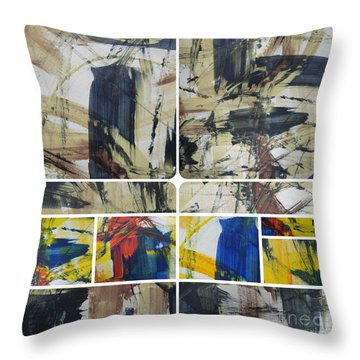 Throw Pillow featuring the photograph Spring Part Two by Sir Josef - Social Critic - ART