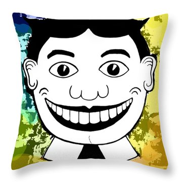 Spring Pop Tillie Throw Pillow by Patricia Arroyo