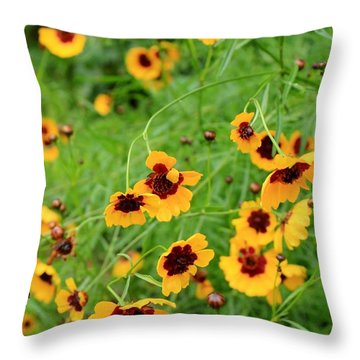 Spring Seasoning Throw Pillow