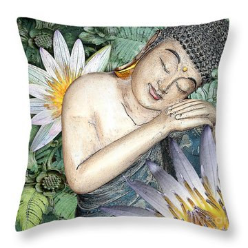Spring Serenity Throw Pillow by Christopher Beikmann