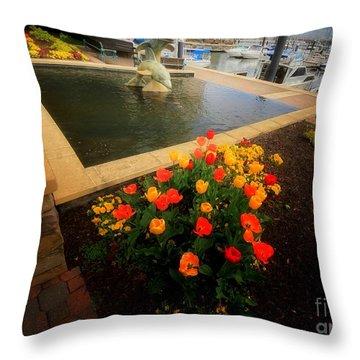 Spring Sprung 2 Throw Pillow by Robert McCubbin