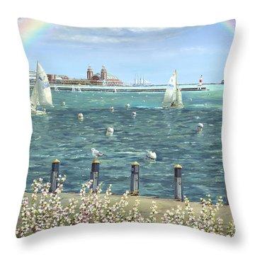 Spring Tidings II Throw Pillow by Doug Kreuger