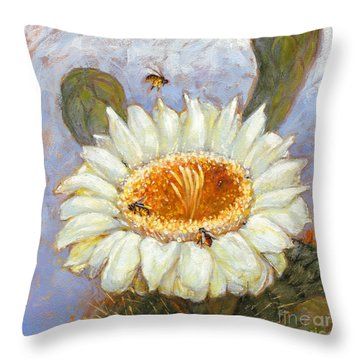 Spring Trio Throw Pillow
