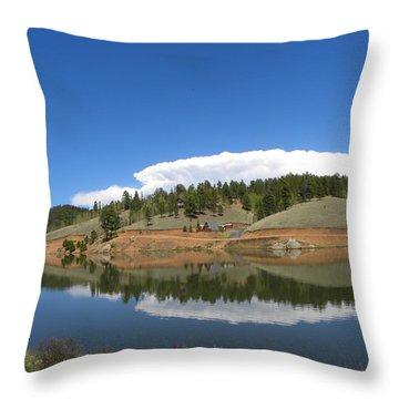 Ridge Over Burgess Res Divide Co Throw Pillow
