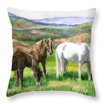 Spring Valley Throw Pillow