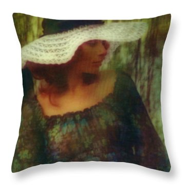 Spring Throw Pillow by Victor Minca