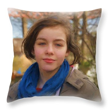 Spring Wind Of Change Throw Pillow