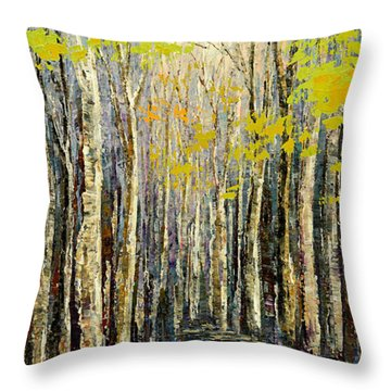 Spring Wind Throw Pillow