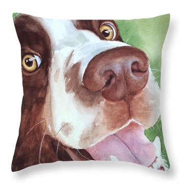 Springer Throw Pillow