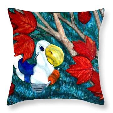 Springrider2 Throw Pillow