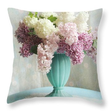 Throw Pillow featuring the photograph Spring's Glory by Sylvia Cook