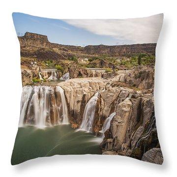 Springs Last Rush Throw Pillow