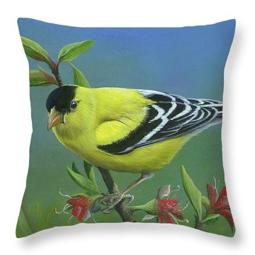 Spring's Return Throw Pillow