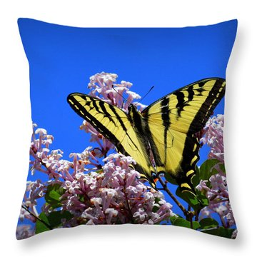 Springtime Beauty Throw Pillow