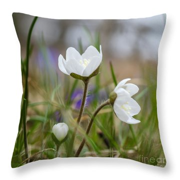 Springtime Blossom Throw Pillow
