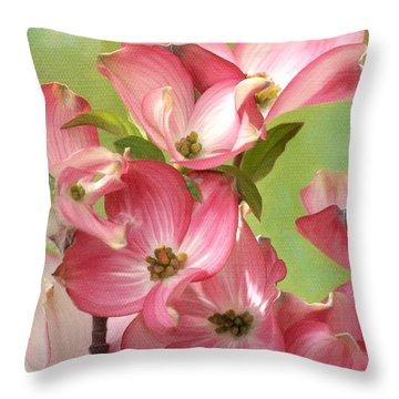 Springtime Dance Throw Pillow