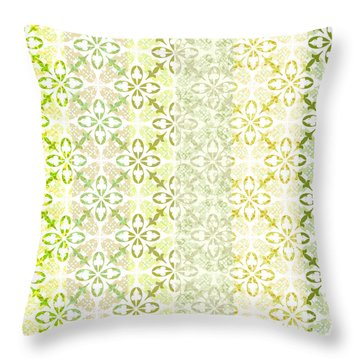 Springtime Throw Pillow by Linde Townsend