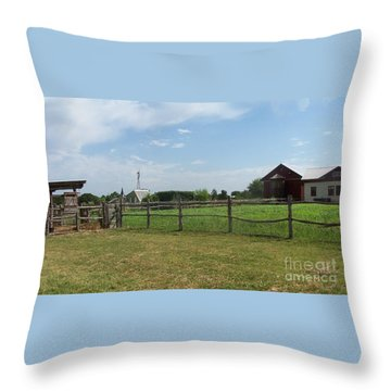 Springtime Serenity Throw Pillow