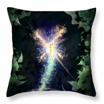 Sprite Fotzepolitic Throw Pillow