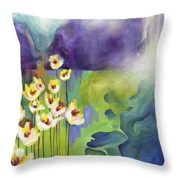 Sprouting Throw Pillow