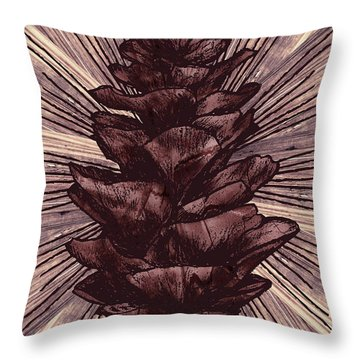 Spruce I Throw Pillow