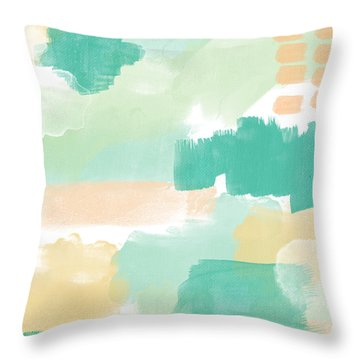 Spumoni- Abstract Painting Throw Pillow
