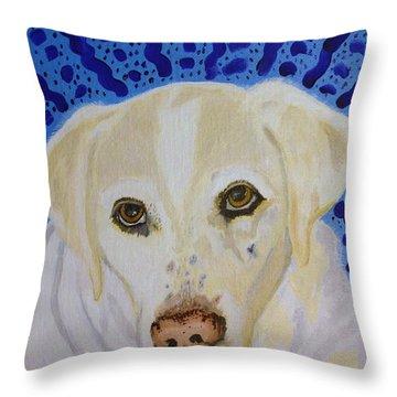 Spunky Throw Pillow by Vicki Maheu