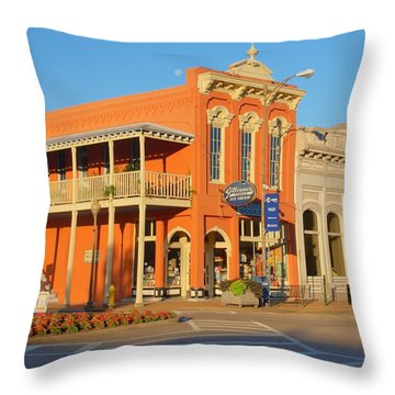 Square Books Oxford Mississippi Throw Pillow