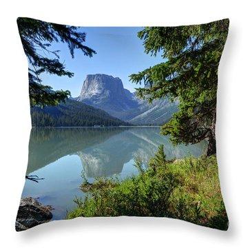 Squaretop Mountain - Wind River Range Throw Pillow