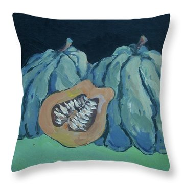 Squash Throw Pillow