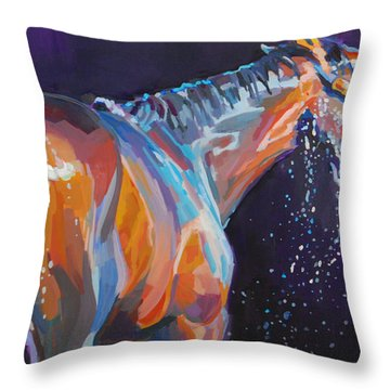 Squeaky Clean Throw Pillow