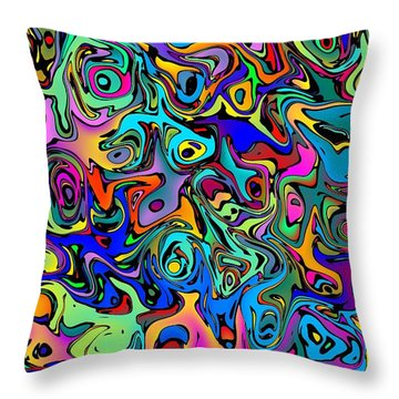 Squimbles Throw Pillow