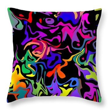 Throw Pillow featuring the photograph Squirbles by Mark Blauhoefer