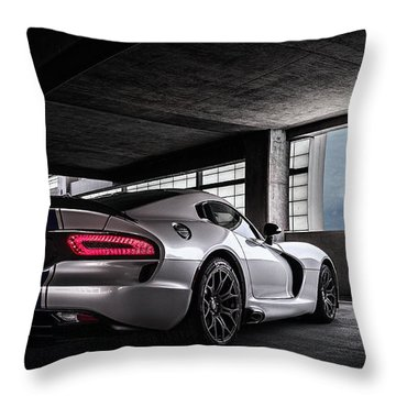 Srt Viper Throw Pillow