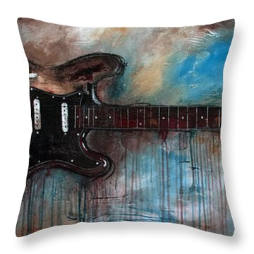 SRV Throw Pillow