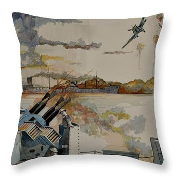 Ss Ohio II Throw Pillow