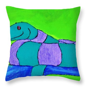 Ssssss Throw Pillow