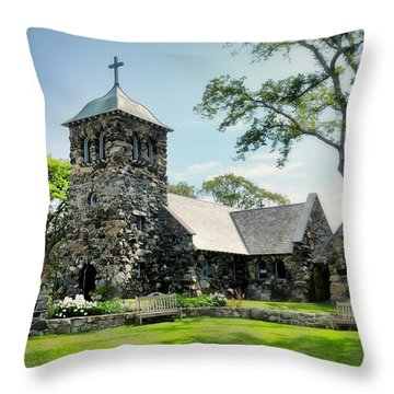 St. Ann's Episcopal Church Throw Pillow