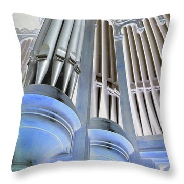 St Augustine Fantasy Organ Throw Pillow
