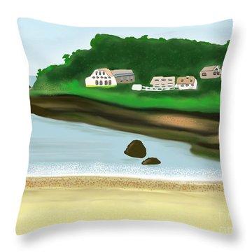 A Peaceful Life  Throw Pillow