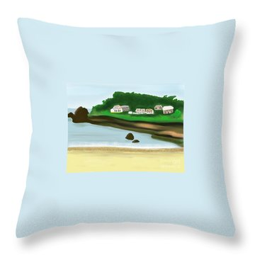 A Peaceful Life  Throw Pillow