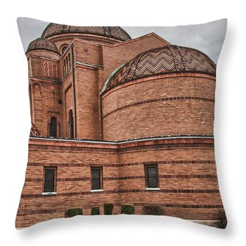 St Casimir's 10248 Throw Pillow by Guy Whiteley