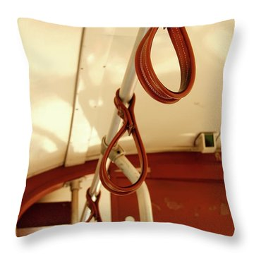 Throw Pillow featuring the photograph St. Charles Streetcar by KG Thienemann