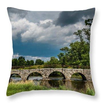 St. Cloud Bridge Throw Pillow