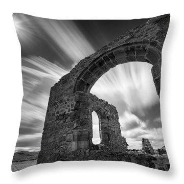 St Dwynwen's Church Throw Pillow