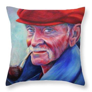 St. Francis Throw Pillow