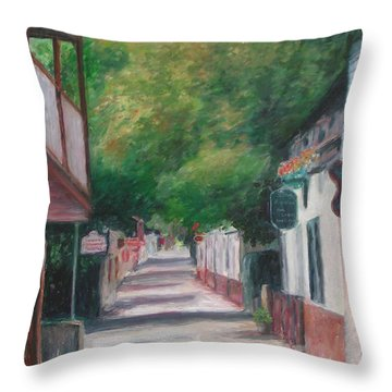 St George Street IIi Throw Pillow
