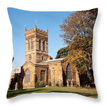 St Giles Church 02 Throw Pillow