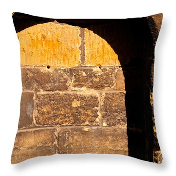 St Giles Church Arch Throw Pillow