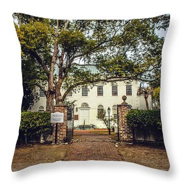 St. Helena Throw Pillow by Jessica Brawley